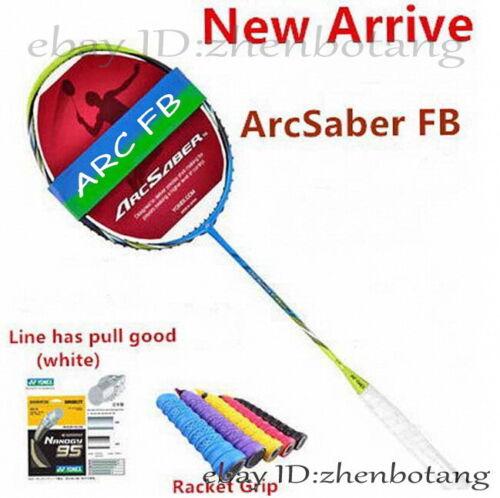 Hot Arrival ArcSaber FB Carbon badminton racket ARC FB Badminton Racket 1 pcs