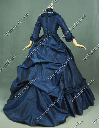 Victorian Dresses | Victorian Ballgowns | Victorian Clothing    Victorian EVIL Queen Bustle Fairytale Gown Dress Witch Halloween Costume 330  AT vintagedancer.com