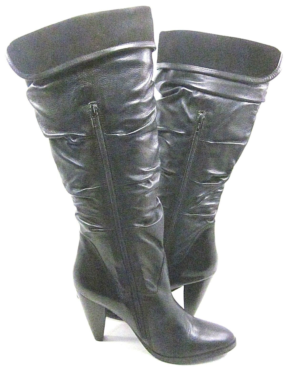 DIBA, ALVA VIDA BOOT, Damenschuhe, BLACK, DISPLAY US 10M, LEATHER, NEW/ DISPLAY BLACK, WITHOUT BOX 679ef2