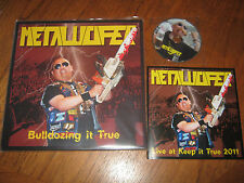 "METALUCIFER ""Bulldozing It True"" LP + DVD  sabbat desaster gorgon"