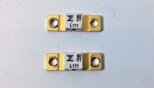 Details about 2 Pcs Transistor LDMOS L171 RF Power Field Effect Gold Plated  Fairchild Company