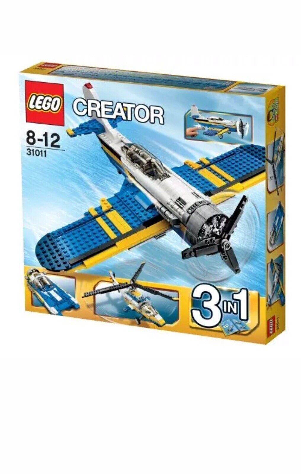 Lego 31011 Creator 3 en 1 aventuras de aviación