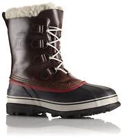 Sorel Caribou Wl Wool Men's Winter Boot Nm1873/282 Burro