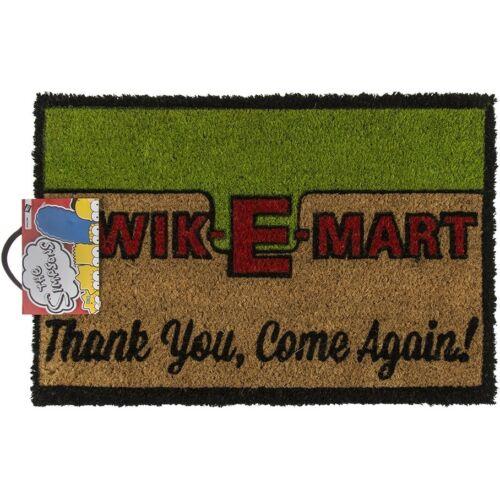 """60x40 cm Floor mat mat türmatte doormats Fussabtreter /""""Kwik-E-Mart/"""" CA"""