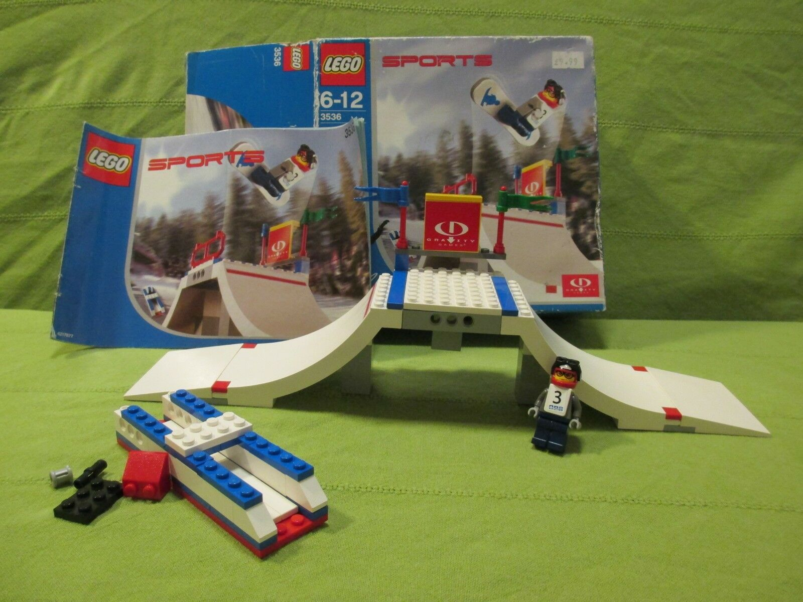 LEGO SPORTS Set 3536 - Gravity Games Big Air Competition Inc. Box & Instructions