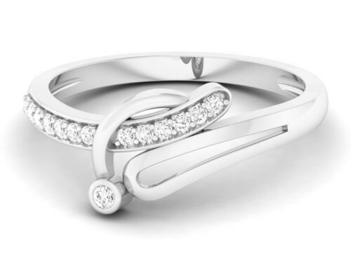 Details about  /925 Sterling Silver Ring Cubic Zirconia Elegant Pave Size 4-12