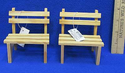 Swell Wooden Doll Benches Miniature Wood Russ Handcrafted Lot Of 2 39915211539 Ebay Short Links Chair Design For Home Short Linksinfo