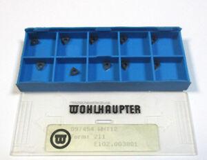 10 Plaquettes 097454 Wht12 Forme 211 E102.003801 Von Wohlhaupter Neuf H21759