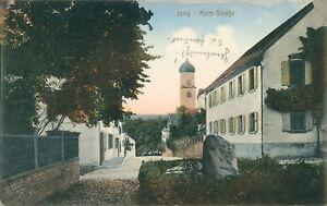Ansichtskarte-Isny-Kirch-Strasse-1919-Nr-847