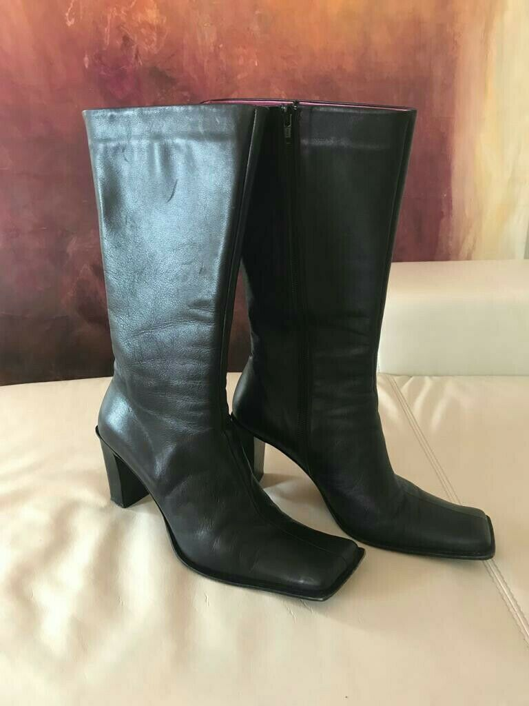 ☀ KITANA ☀ coole Stiefel in Schwarz made In