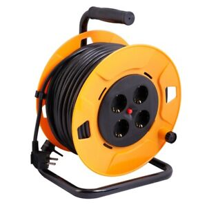Enrouleur De Câble Rallonge De Câble 50 Mètres Professionnel