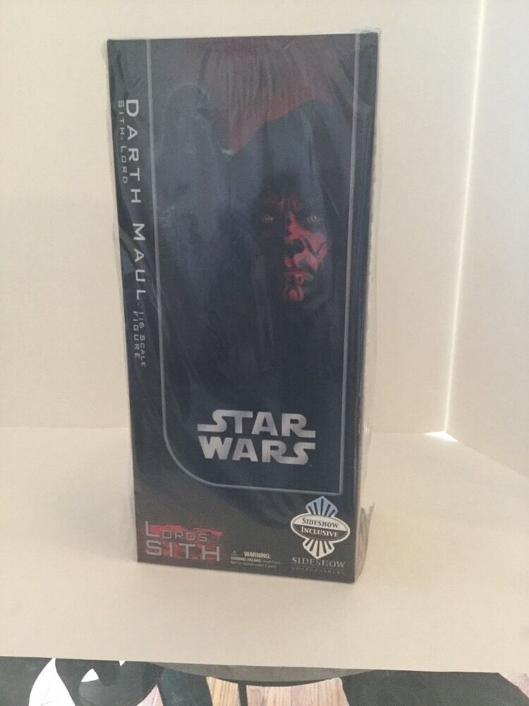 Sideshow Star Wars Exclusive 1 6th scale Darth Maul & Sith Probe Brand New NRFB