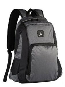 c8375b5a4760bf NWT Nike Air Jordan Legacy Elite Backpack Laptop Bag 9A1456-195 Grey ...