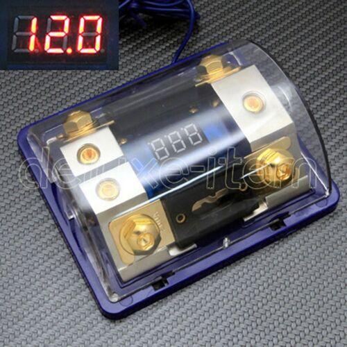 DIGITAL LED DISPLAY GOLD 2 ANL FUSE HOLDER 0 2 4 GAUGE