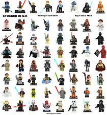 Star Wars Minifigure Lego & Custom Clone Wars Rogue Han Solo Figure £2.69 Each