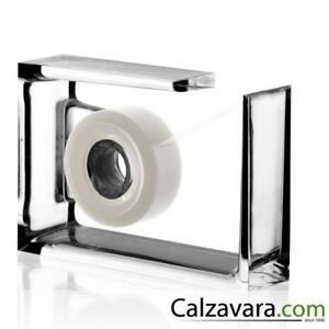 LEXON-Roll-Air-Dispenser-Nastro-Adesivo-Plexiglass-Trasparente