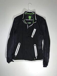 AUTHENTIC HUGO BOSS BLACK FULL ZIP JACKET Size Men's L