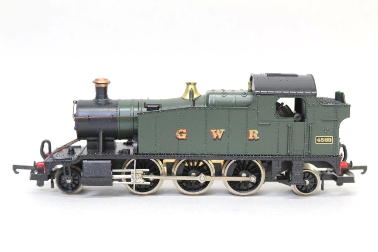 Lima 205111 GWR 2-6-2 Steam Loco No.4589 EXCELLENT RUNNER OO Gauge V11