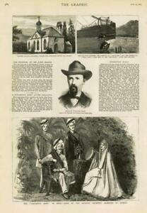 1883-Antique-Print-BALMORAL-CRATHIE-CHURCH-JOHN-BROWN-INDIA-SALVATION-ARMY-142