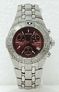 Orologio Sector 650 diver watch sub 200 meters diving clock 37 mm stainless stee
