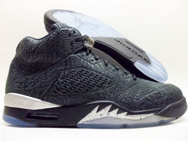 new arrival cefde 45f75 NIKE AIR JORDAN 3LAB5 BLACK BLACK-METALLIC SILVER SIZE MEN S 11.5  599581-