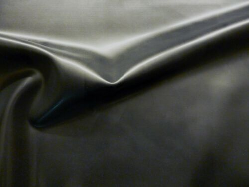 Black 92cm Wide Latex Rubber 0.20mm Thick Seconds Five Metres