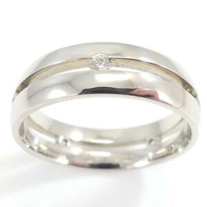 Unusual-Design-Palladium-Twin-Banded-Diamond-Set-Wedding-Ring