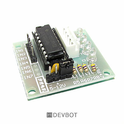 Module Contrôleur ULN2003, pour Moteur Pas à Pas. Arduino, DIY, Domotique, Pi