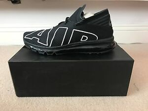 NIKE AIR MAX FLAIR UPTEMPO BLACK / WHITE UK 9 / US 10 / EU 44 eBay