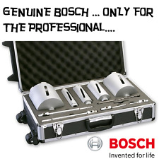 Bosch PRO Diamond Dry Core Cutter Set of 5 Plus Accessories G 1/2in 11 Piece PRO