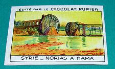 CHROMO SYRIE  N°44 CHOCOLAT PUPIER ASIE 1936 NORIAS A HAMA
