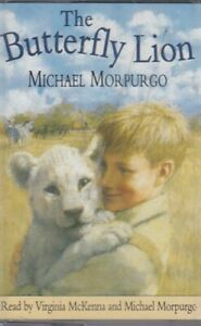 Michael-Morpurgo-Butterfly-Lion-Cassette-Audio-Book-Virginia-McKenna-FASTPOST