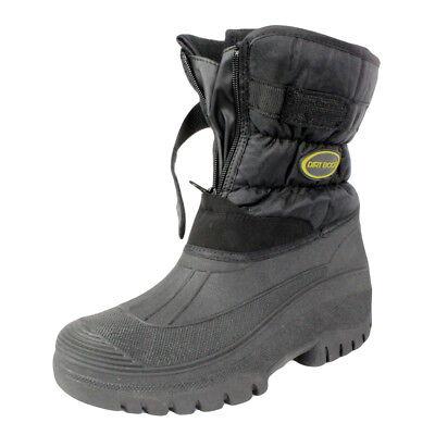 Dirt Boot ® All Weather Impermeabile Invernale Neve Muck Stivali Da Pesca Giardino- Aspetto Elegante