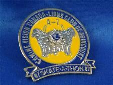 LIONS CLUB CANINE VISION CANADA AGINCOURT 1987 SKATE-A-THON ONTARIO HAT PIN