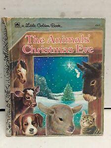 The animals christmas eve little golden book