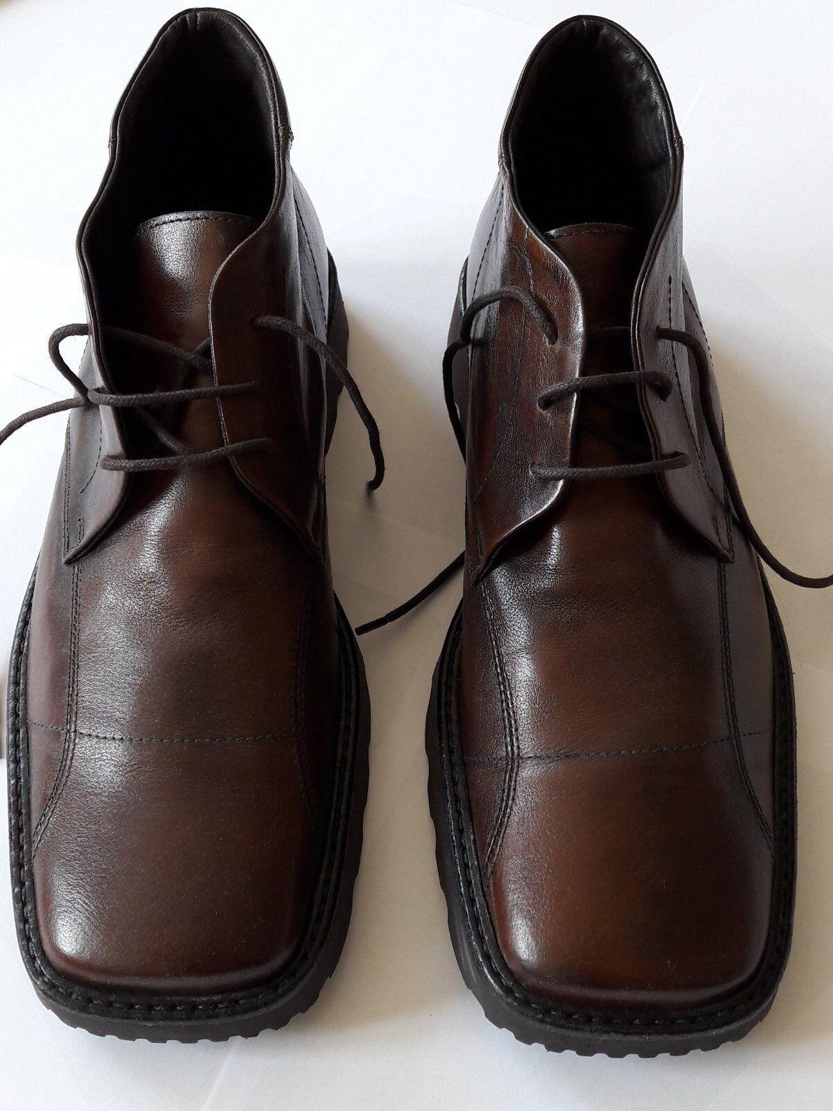 Rowland Brothers Herrenschuhe Gr.44 braun Leder