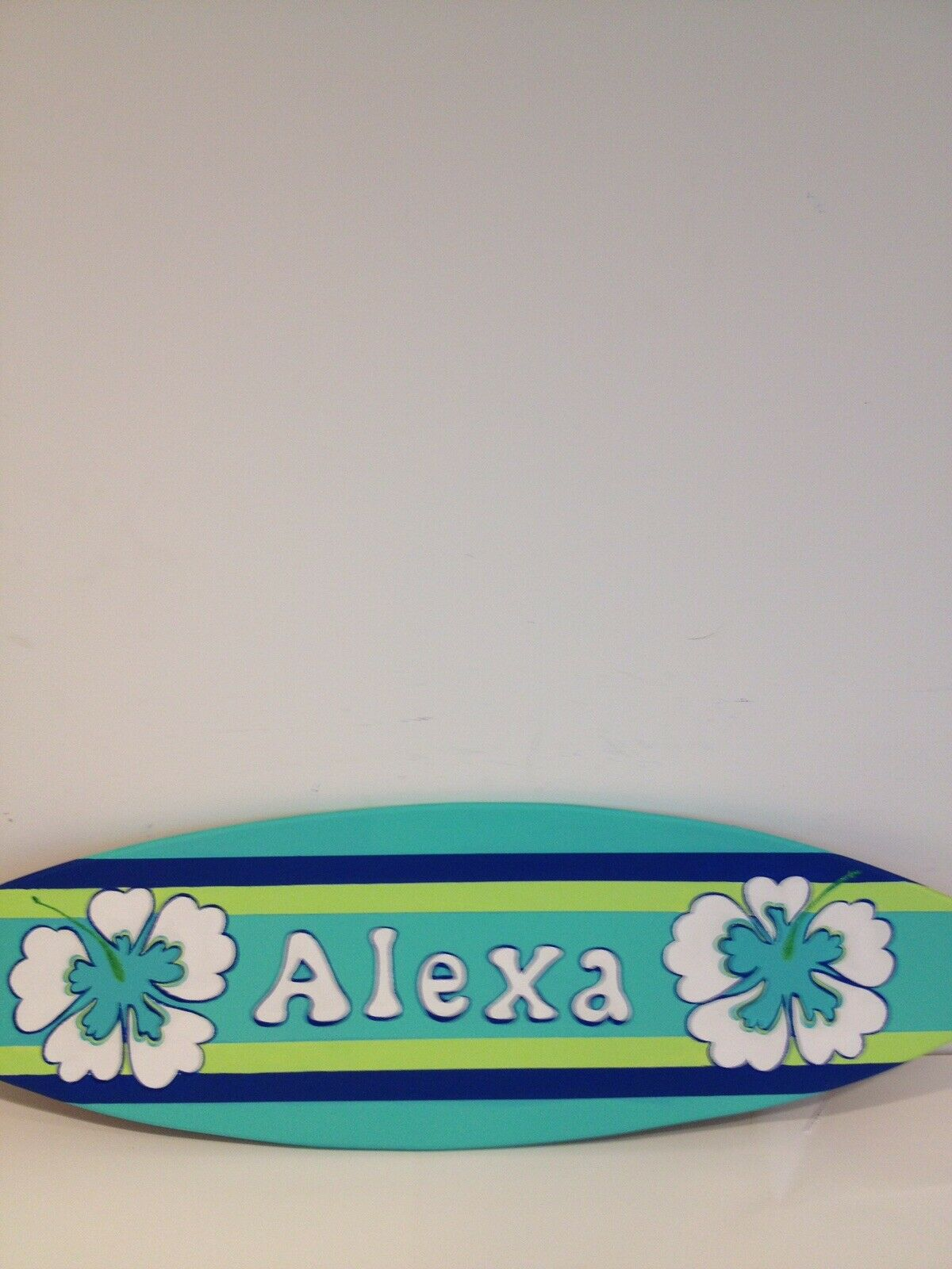 Surf Surfboard Beach Pool Party Guest Sign In Board Prop Decor Decoration sign