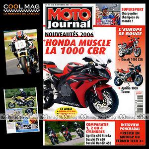 MOTO-JOURNAL-N-1678-APRILIA-650-SV-SUZUKI-GSF-HONDA-CBR-RR-HARLEY-DAVIDSON-1130