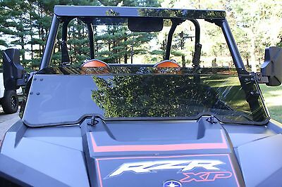 "Polaris RZR 900S - XP1K -XP4 and turbo models 1/4"" thick tinted half windshield"