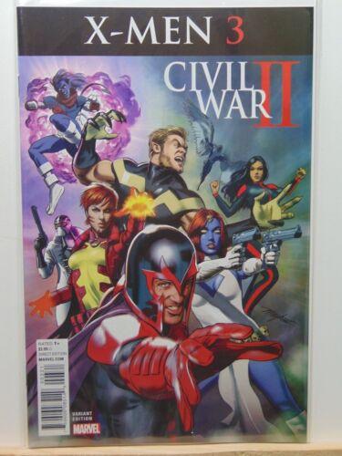 X-Men #3 Variant Edition Civil War II Marvel Comics CB3730