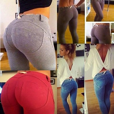 Sexy Womens Skinny Stretchy Pants Jeggings Leggings Jeans Pencil Tight Trousers
