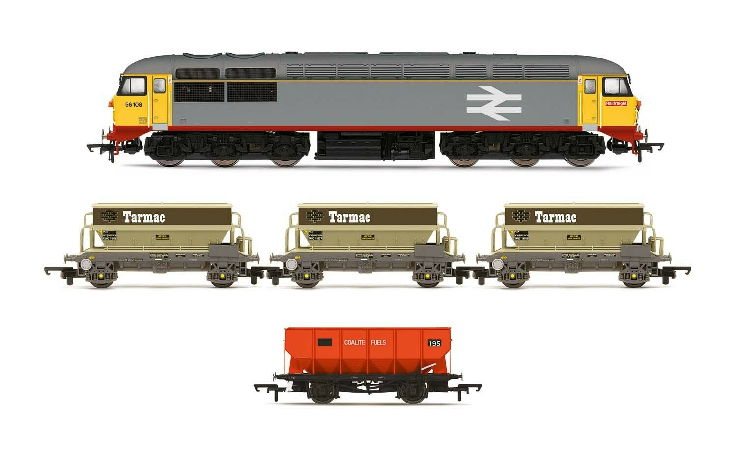 Hornby Soverign Train Pack Railfreight Freight R3799