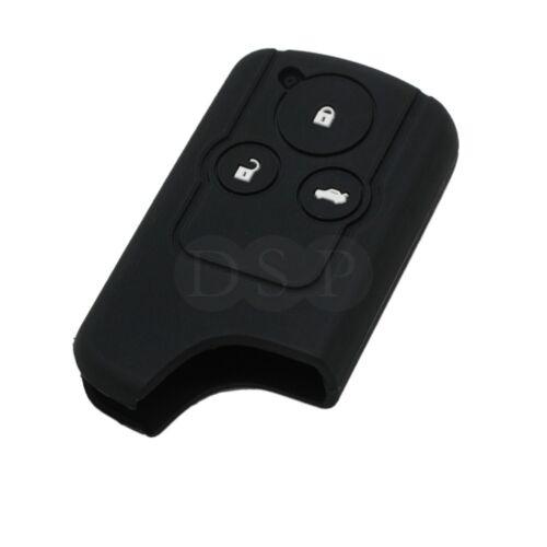 Silicone Cover fit for HONDA Civic Accord CR-V Odyssey Remote Key 3BTN CV3201BK