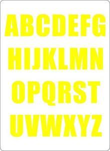 Kit-26-x-Adesive-sticker-adesivo-lettere-auto-moto-alfabeto-tunning-giallo