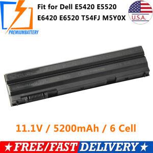 New-60Wh-Battery-for-Dell-Latitude-E5420-E6420-E6520-E6530-T54FJ-M5Y0X-Laptop