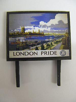 Aggressivo Gwr London Pride - Model Railway Billboard - N Gauge & Oo Gauge Merci Di Alta Qualità