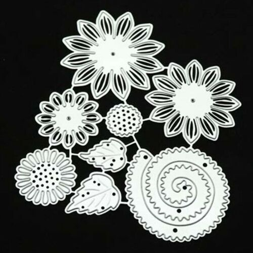 Sunflower Embossing Metal Cutting Dies Stencil  Scrapbooking Embossing Craft@ly