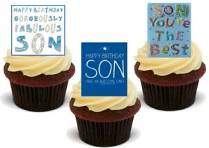 Cool Happy Birthday Son Mix A Stand Up Premium Card Cake Toppers Funny Birthday Cards Online Bapapcheapnameinfo
