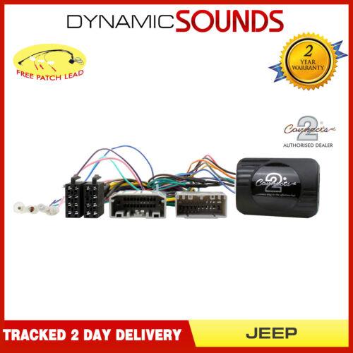 CTSJP00C Control de Volante Adaptador para Jeep Liberty Wrangler Patriot