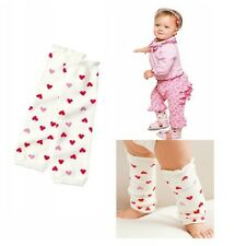 Baby Infant Toddler Girls Pink Hearts Leg Warmers, brand new VERY soft